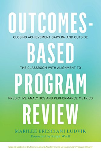 Outcomes-Based Program Review: Closing Achievement Gaps In- and Outside the Classroom With Alignment to Predictive Analytics and Performance Metrics (Closing Programs)