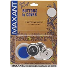 Maxant Button Cover Button Kit-Size 45 1-1/8-Inch, 3-Pack