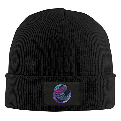 unisex-watch-cap-cable-wireless-communications-logo-black