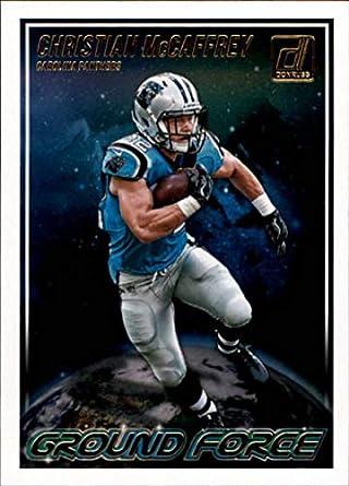 2018 Donruss Ground Force Football Card  9 Christian McCaffrey NM-MT Carolina  Panthers Official 1d6b38593
