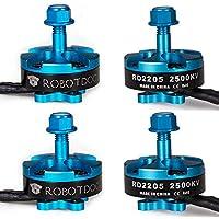 RobotDog 4pcs RD2205 2500KV 2300KV Racing Motor Alien Rooster ZMR250 Multirotor Quadcopter Motor (2500KV)