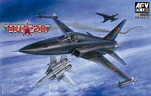 AFV48S09 1:48 AFV Club MiG-28 / F-5E Tiger II US Navy Air Raider [MODEL BUILDING KIT] 1