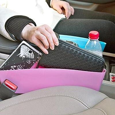 Bobury Car Waterproof Gap Storage Box Car Edge Box Car Seat Spacer Storage Box Leak Proof Slot Glove Box Car Accessory from Bobury