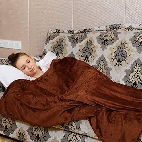 電気暖房毛布スーパーソフトカシミヤ電子コントローラー4速温度制御