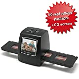 Digitnow!5M/10M Stand alone 2.4'' LCD Display Film/Slide scanner 1800DPI high resolution Picture scanner in USB2.0 interface Convert to PC