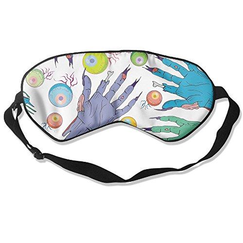 Comfortable Sleep Eyes Masks Eyeball And Terrible Hands Design Sleeping Mask For Travelling, Night Noon Nap, Mediation Or Yoga]()