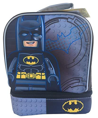 [해외]LEGO Batman Back to School Insulated Lunchbox Lunch Bag with Drop Down Zippered Compartments / LEGO Batman Back to School Insulated Lunchbox Lunch Bag with Drop Down Zippered Compartments