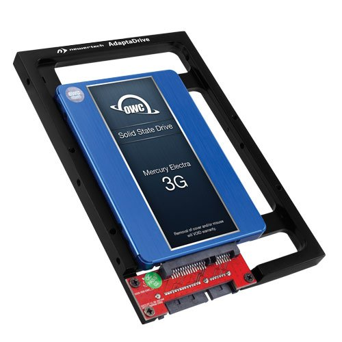 OWC 120GB 3G SSD with NewerTech AdaptaDrive, DIY Upgrade Bundle by OWC