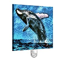 Humpback Whale- Night Light From Doggylips