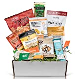 High Protein Fitness Snack Sampler: Healthy Snacks Care Package Perfect Gift For Athletes, Military, Personal Trainers (12 Count)