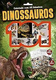 Dinossauros: Colorindo com 101 Adesivos