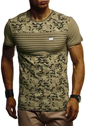 Nelson Longsleeve Camouflage Hommes Courte Shirt Ln405 Manche T Sweatshirt Pour Rond shirt Des Hoodie Kaki Col Leif 4WdR0wqU4