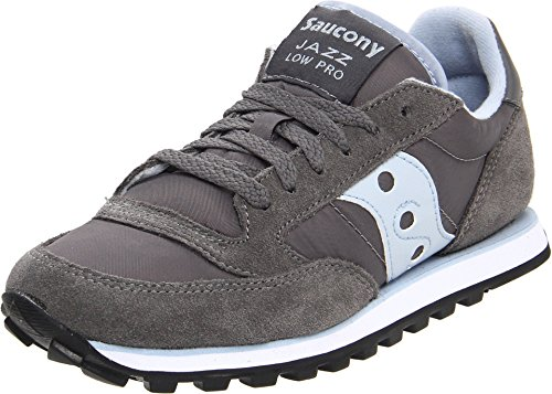 - Saucony Originals Women's Jazz Low Pro Fashion Sneaker,Grey/Blue,7 M US