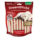 Dreamsticks, Vegetable & Chicken Chews, Rawhide Free, 15-Count - DBC-02396