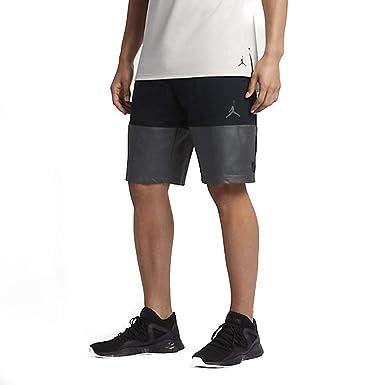 7e69610250bf Nike Jordan Flight Lite Sportswear Mens Basketball Shorts (Small) Black Grey