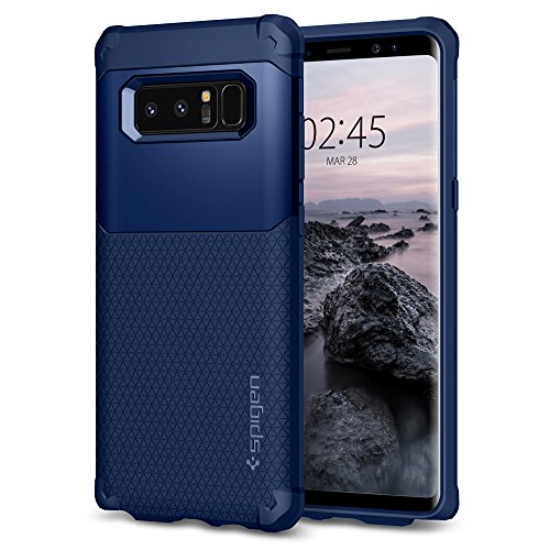 Spigen Slim Protective Cell Phone Case for Samsung Galaxy Note 8 - Deep Sea Blue