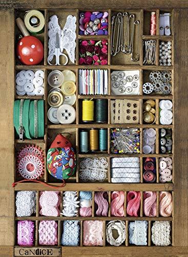 Ravensburger, Rompecabezas Caja de Costura, 500 Piezas