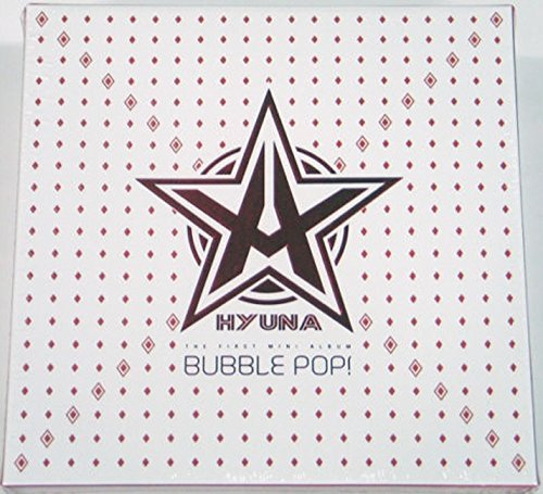 HYUNA 4Minute - Bubble Pop! (1st MIni Album) CD+Extra Gift Photocard