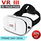 Motoraux 3rd Vr Virtual Reality Headset Google Version 3D Glasses DIY Video Movie Game Glasses for Samsung LG Sony HTC Xiaomi ZTE