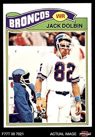 Amazon.com: 1977 Topps # 113 Jack Dolbin Denver Broncos (Football ...