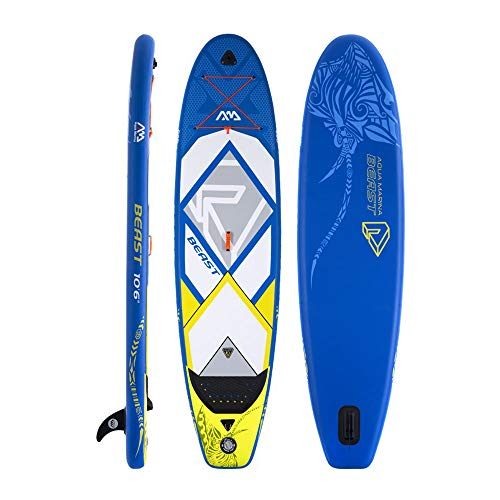"""Aqua Marina 10'6"""" Inflatable Stand Up Paddle Board  with Pum"""