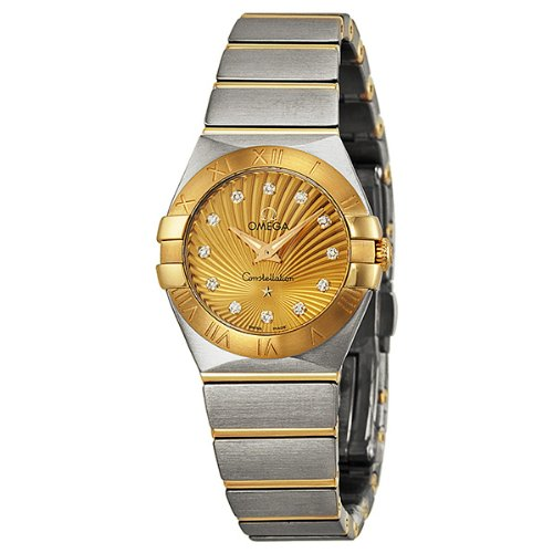 Omega Women's 123.20.24.60.58.001 Constellation '09 Champagne Dial Watch
