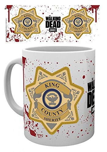 Set: The Walking Dead, King County Sheriff Badge Photo for sale  Delivered anywhere in USA