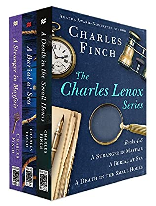 book cover of The Charles Lenox Series Books 4-6