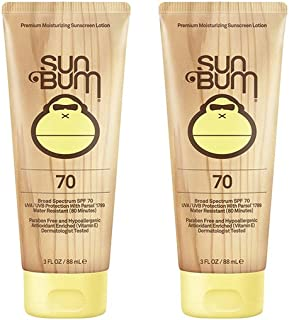 product image for Sun Bum Moisturizing Sunscreen Lotion, 3-Ounce, SPF 70 (2 Pack)