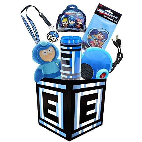 Mega Man Collection LookSee Box | Includes 6 Officially Licensed Mega Man Video Game Collectibles