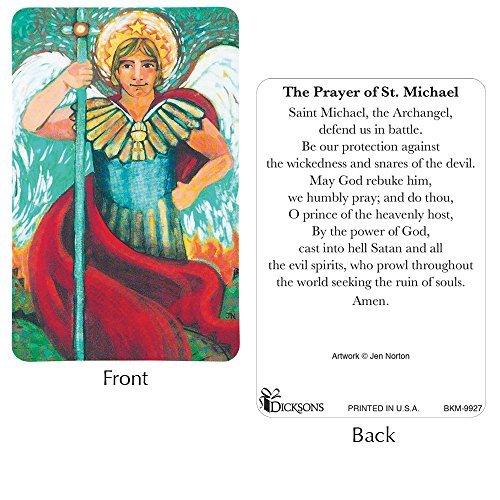 St. Michael Prayer Card Pack of ()