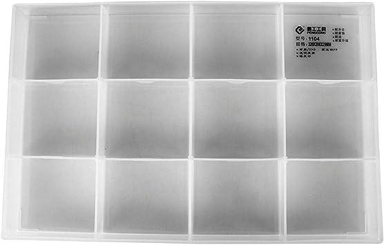 Matefield - Caja de almacenamiento con compartimentos, tornillos y ...
