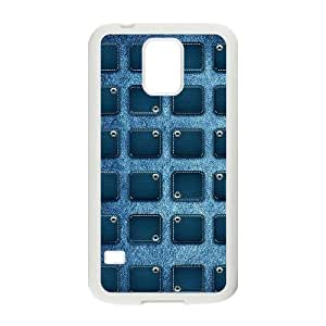 Denim ZLB563304 Unique Design Phone Case for SamSung Galaxy S5 I9600, SamSung Galaxy S5 I9600 Case