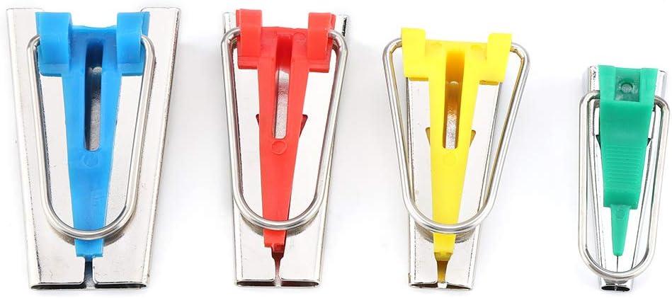 Yunhany Direct Fabric Bias Tape Maker Folder Kit DIY Sewing Quilting Binding Tool Set