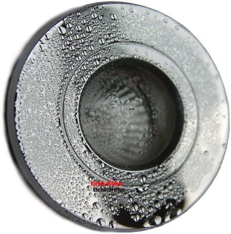 3er Set 230V Bad Einbaustrahler Bädermax in Chrom Für Dusche, Bad + Nassbereich IP44 inkl. 35Watt Halogenleuchtmittel+Gu10 Fassung