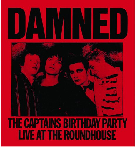 CD : The Damned - The Captain's Birthday Party (CD)