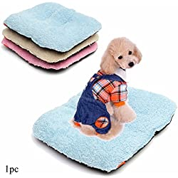 Soft Pets Dogs Cats Bed Kennel Pillow Puppy Cushion Sofa Hot Mat Blanket