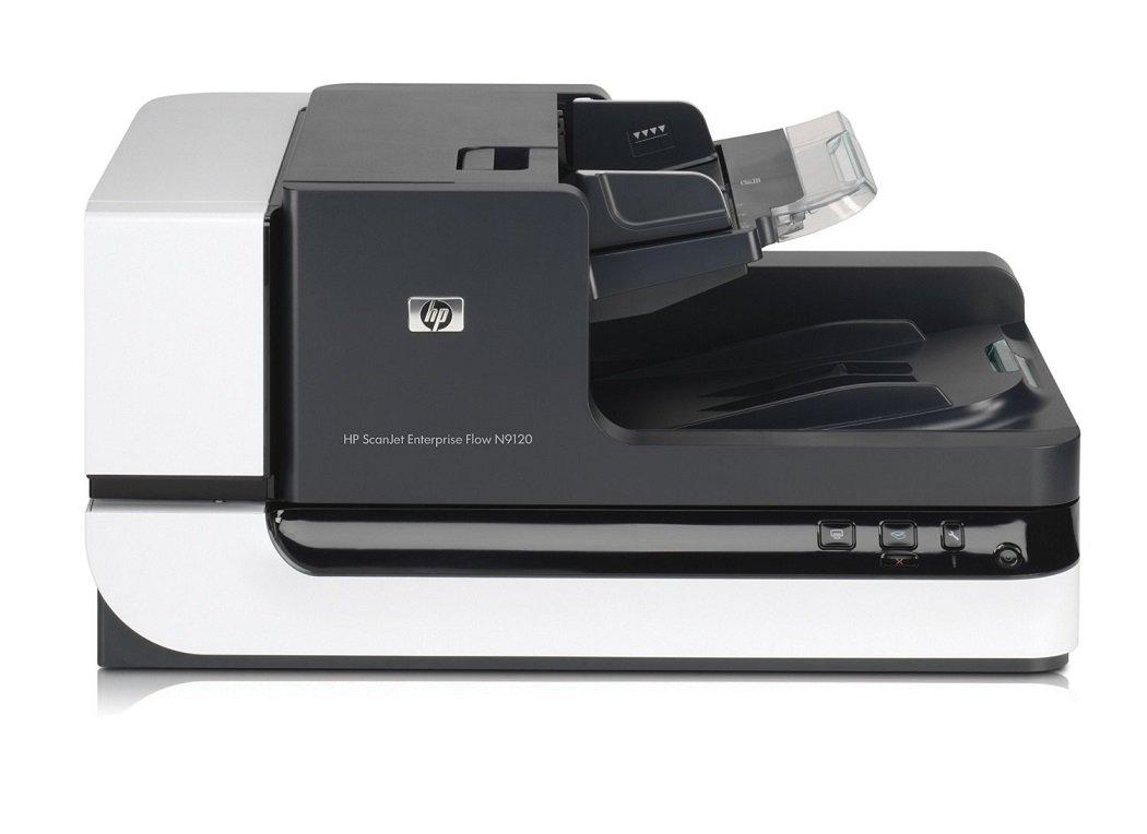 HP ScanJet Enterprise Flow N9120 Flatbed OCR Scanner
