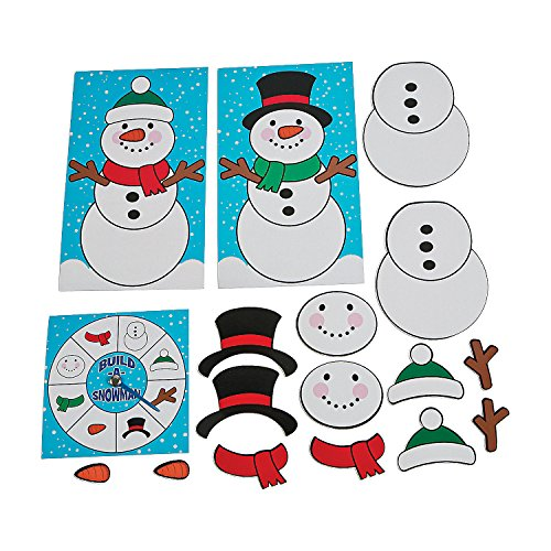 Fun Express Build-a-Snowman Game]()
