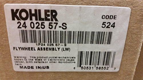 Kohler 24-025-57-S Lawn & Garden Equipment Engine Flywheel Genuine Original Equipment Manufacturer (OEM) part ()