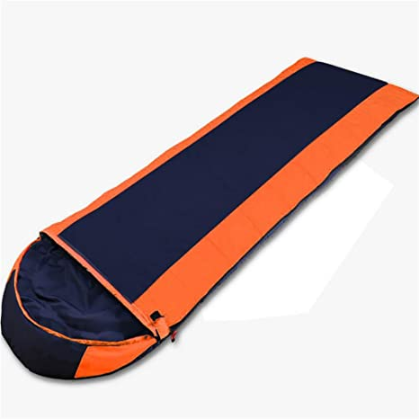 MIAO al aire libre adulto plumas cálida Camping sacos de dormir, naranja