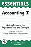 Accounting I Essentials (Essentials Study Guides) (v. 1)
