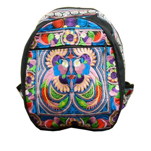 BenThai Products, Borsa a zainetto donna Multicolore multicolore
