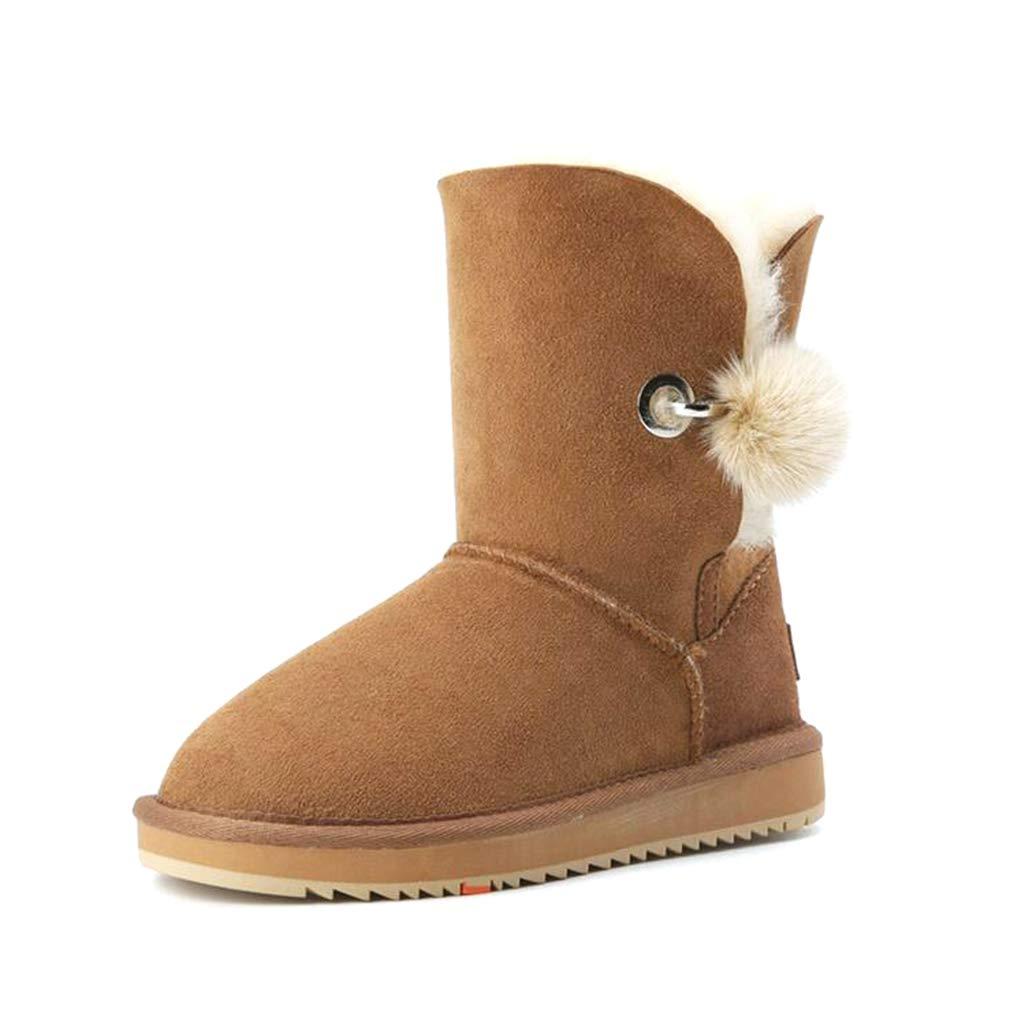 Hy 2018 Frauen Schuhe Winter Warm Winddicht Snowproof Schnee Stiefel, Damen Outdoor-Übung Snowsports Skiing Schuhe Winter Stiefel Fashion Stiefelies Größe: 34-40 (Farbe : EIN, Größe : 36)