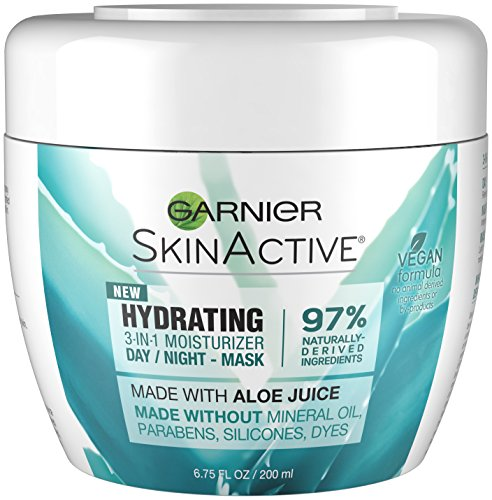 Garnier SkinActive 3-in-1 Face Moisturizer with Aloe, For Dry Skin, 6.75 fl. oz. ()