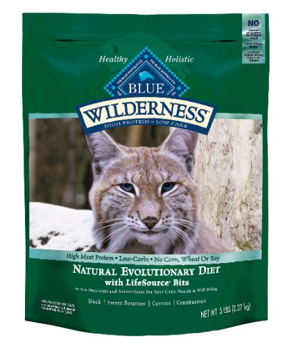 Blue Buffalo Wilderness Grain Free Dry Cat Food, Duck Recipe