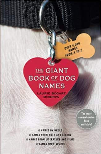 Amazon com: The Giant Book of Dog Names (9781451666908