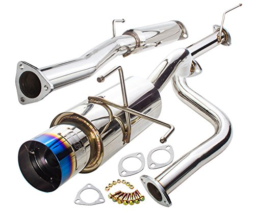 Jdm 65Mm Performance Catback Exhaust Pipe System With 4.5