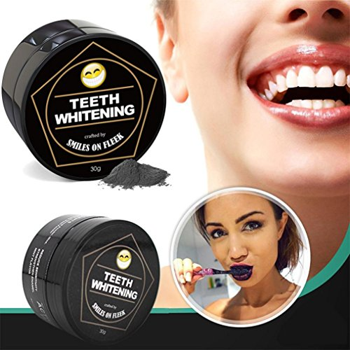 MChoice Large Capacity Teeth Whitening Powder Natural Activated Coconut Charcoal Toothpaste