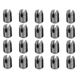 Thread Repair Insert, 1 Set 302 Type 3-Hole SUS303 Stainless Steel Self-Tapping Screw Thread Inserts (4.5 * 0.5m)